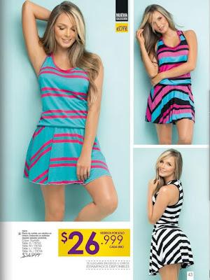 Vestidos a rayas agosto 2015