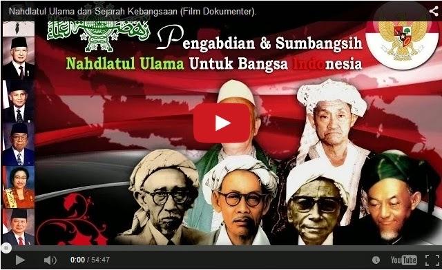 Nahdlatul Ulama dan Sejarah Kebangsaan Didokumentasikan Dalam Sebuah Film