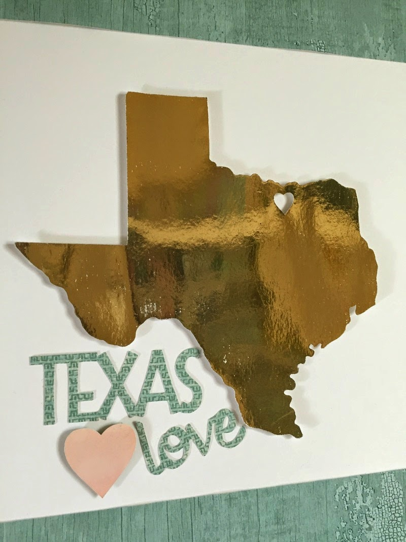 Cricut Texas Home Decor