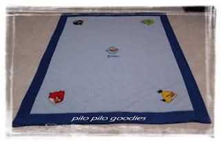 pilo pilo goodies angry bird blanket