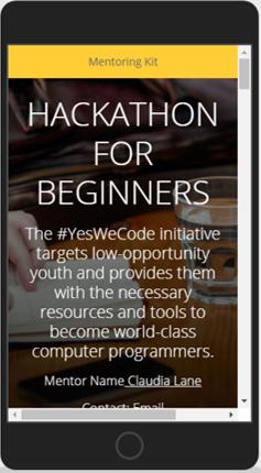 Hackathon Mentor