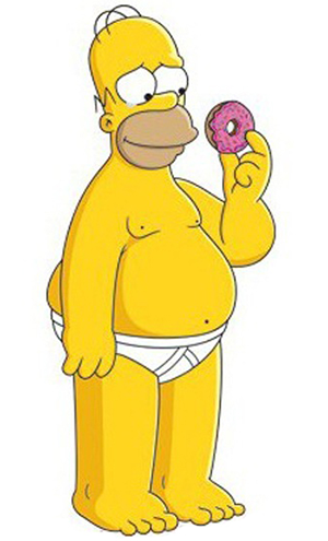Homer Simpson emoticon