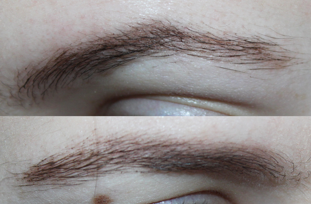 bad outfit great lipstick review glossier boy brow