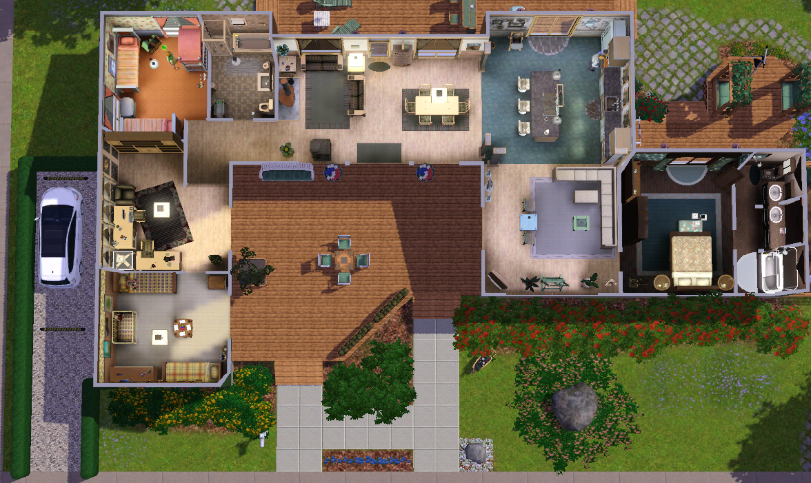 Sims 2 House Layout Ideas House And Home Design