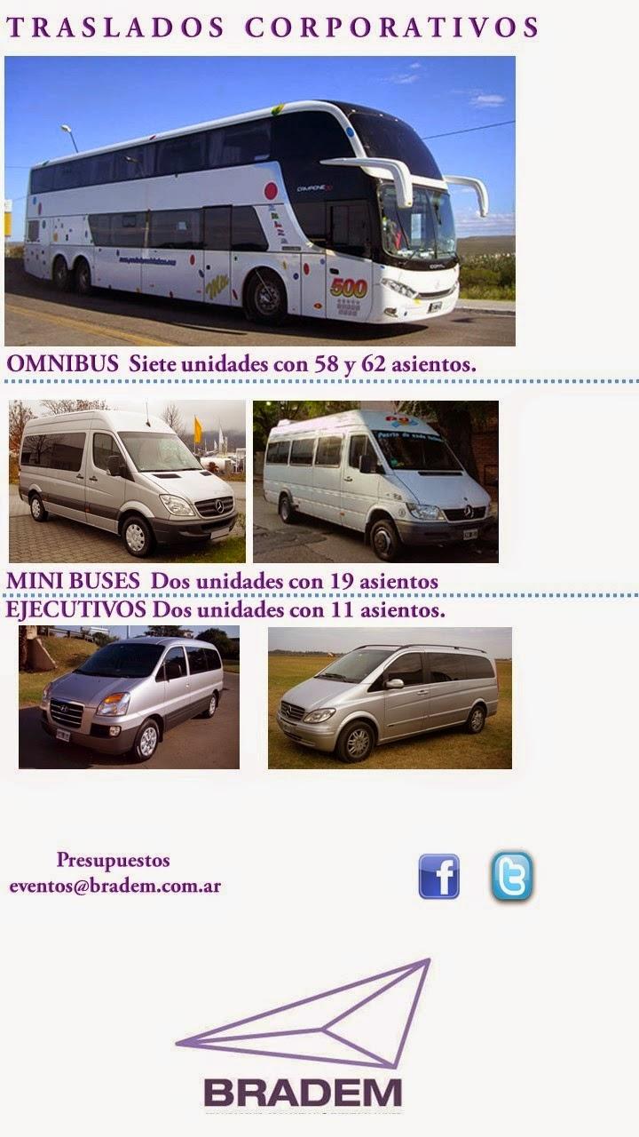 Traslados corporativos - Bus - MiniBus