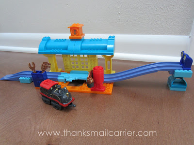 Mega Bloks Chuggington Repair Shop review