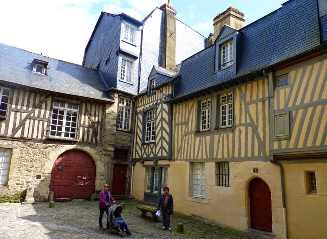 Rue de la Psalette, Rennes.