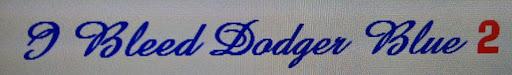 I BLEED DODGER BLUE 2