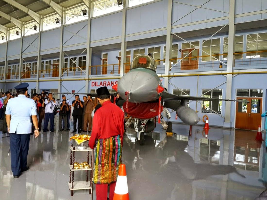 F-16 Skadron 16 Pekanbaru TNI AU