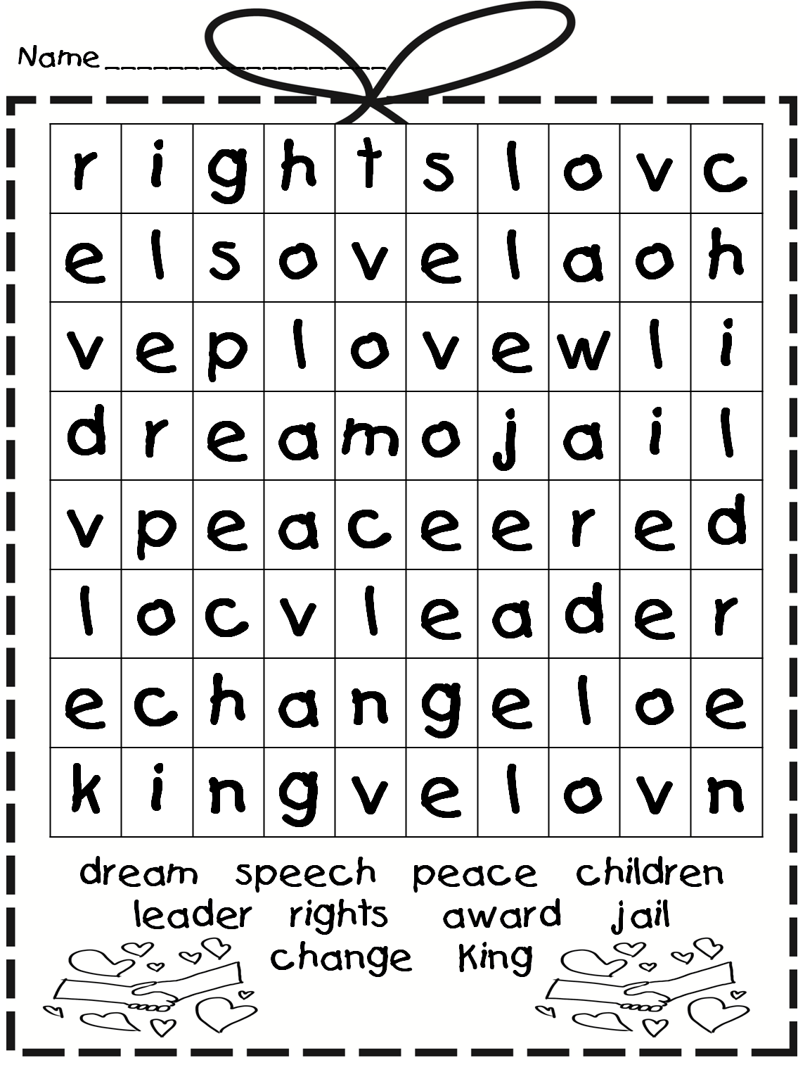 Mesmerizing image regarding first grade word search printable