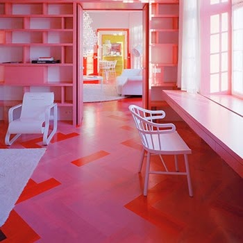 Living Art with Style | Dubai Blog: 10 Colorful Interior Floor Designs