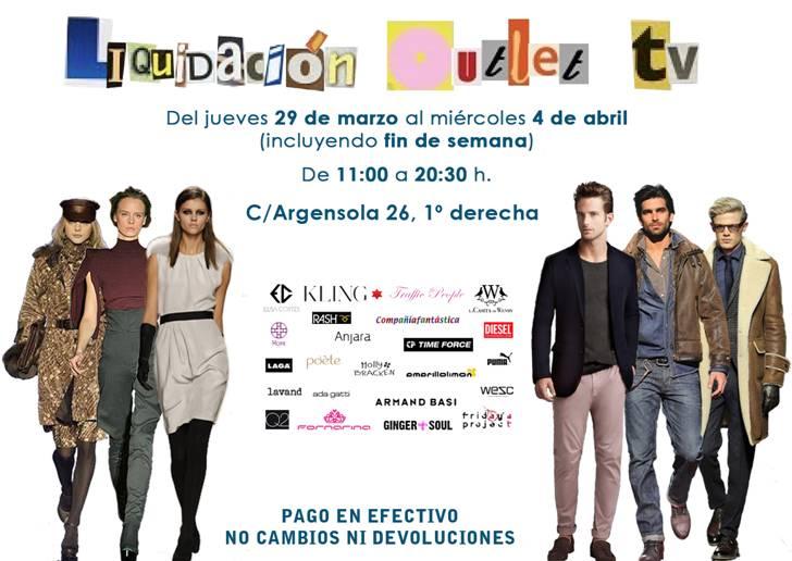 Liquidación Outlet de Televisión: ropa de series, películas, presentadores….
