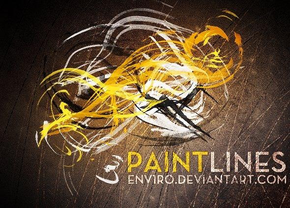 الفوتوشوب الفرشاة 408-paint-lines-brus