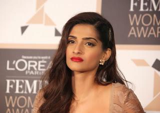 Actress Sonam Kapoor Latest Pictures at Loreal Paris Femina Women Award 2015 Announcement  32