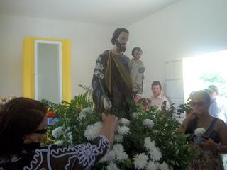 Imágens da celebração da Santa Missa em honra a São José