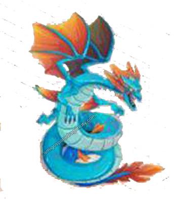 imagen del dragon leviathan de dragon city