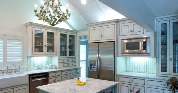 Kitchen trends shabby chic kitchen cabinets for Capital one kitchen cabinets