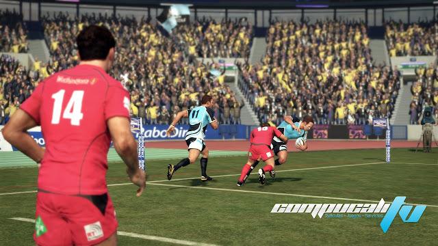 Jonah Lomu Rugby Challenge 2 Xbox 360 Español Región Free