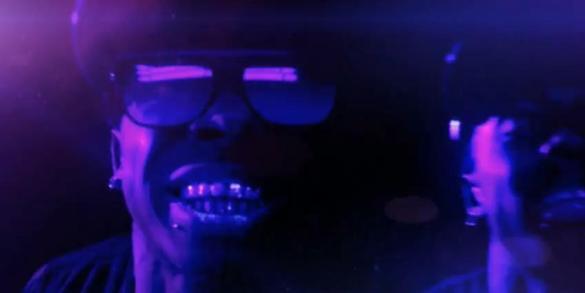 Foto do Lil Wayne no clipe I'm Not a Human Being