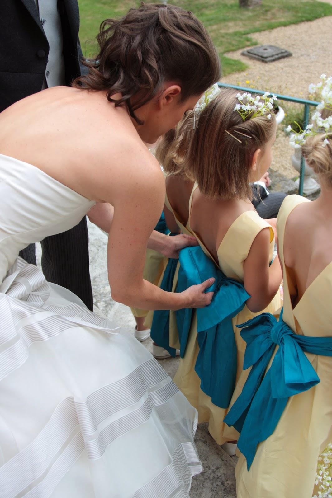 wedding spirit blog mariage robe de mariée maquillage alban de marles photographe essayage séance photo enfant d'honneur