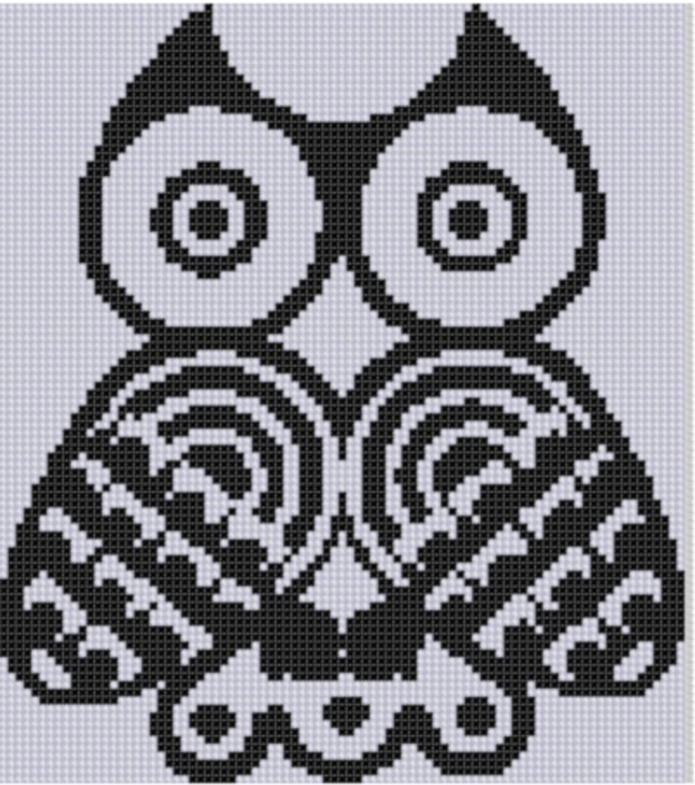 Mother bee designs owl art cross stitch pattern httpcraftsypatternembroideryhand embroideryowl art cross stitch pattern62804 bankloansurffo Image collections