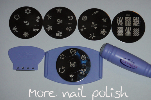 Salon Express Nail Art Stamping Kit With Giveaway