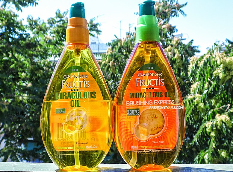 Garnier Miraculous Oil and Brushing Express Oil