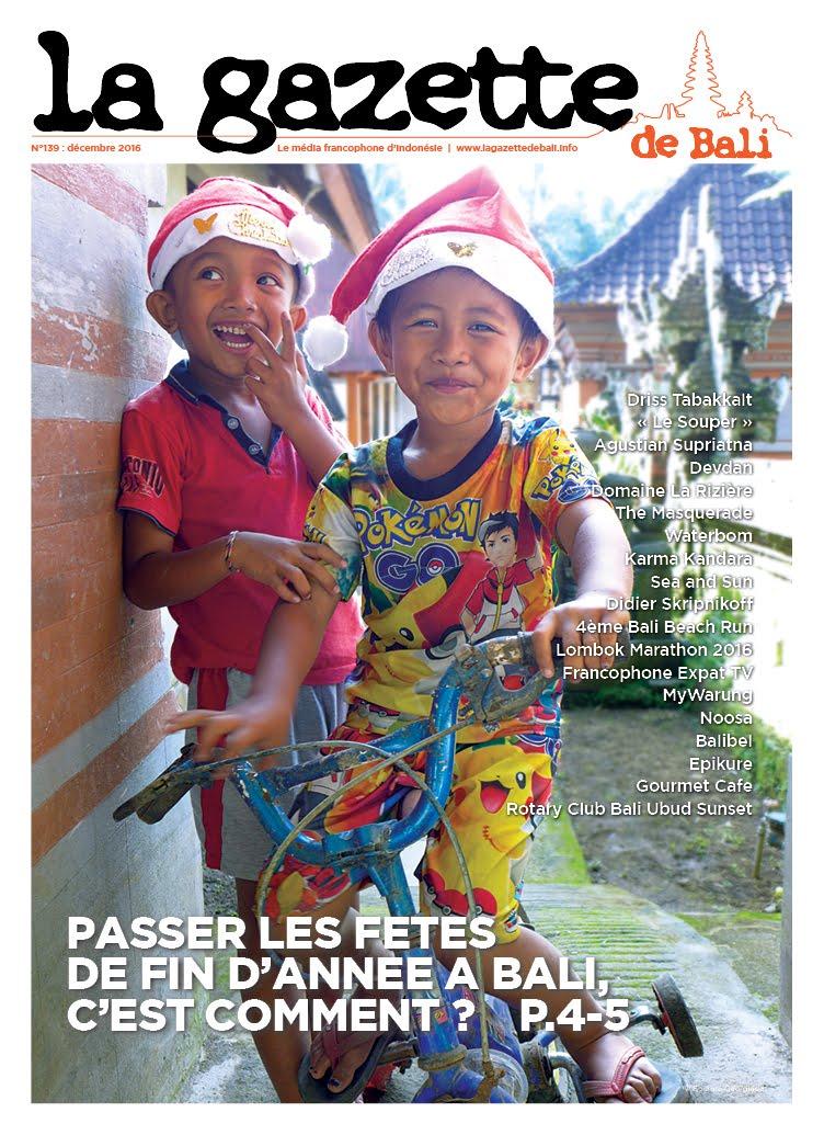 La Gazette de Bali décembre 2016