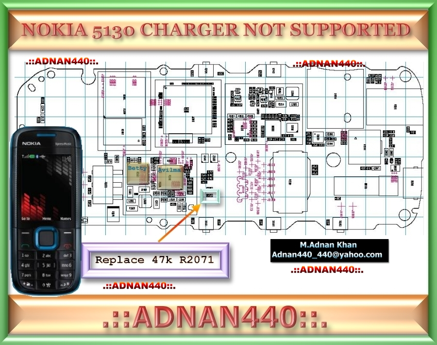 5130 charger not support 5130 simcard 5130 memory card 5130