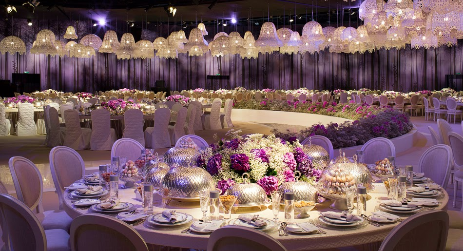 A feast for the eyes!: One of the most beautiful wedding decorartions