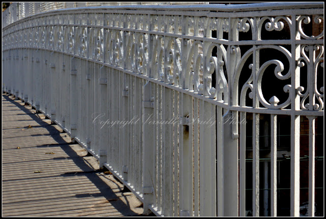 White bridge Versailles pont rue du Parc de Clagny