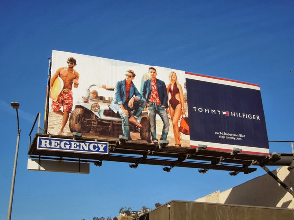 Tommy Hilfiger Spring 2014 surfer billboard