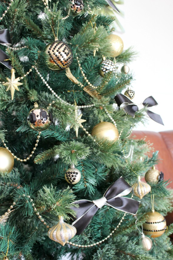 DIY Art Deco Christmas Tree Christmas Ornaments Decorations