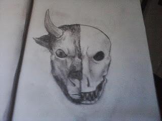 Bull Skull 4