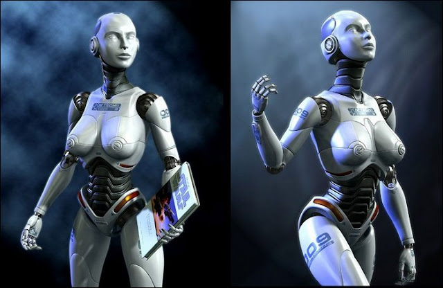 ANDROID GIRLS : Konsep Robot Sexy Di Masa Depan