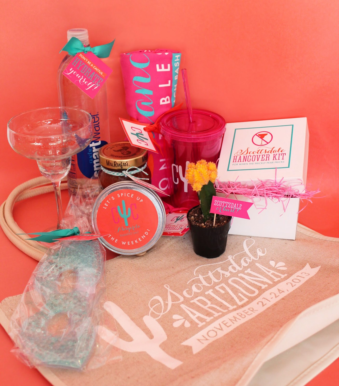 Custom Bachelorette Party Welcome Bag