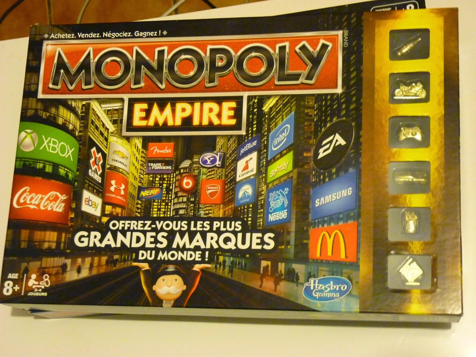 monopoly empire, jeux vidéo, jeux marque, jeux connu, s'occuper, week end pluvieux