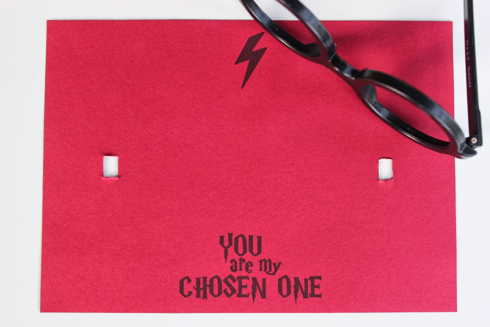 picture relating to Harry Potter Glasses Printable titled HARRY POTTER VALENTINES CARD (Cost-free PRINTABLE)