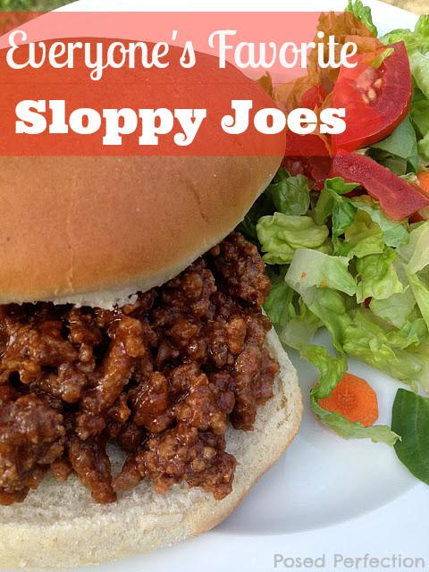 Everyone's Favorite Sloppy Joes