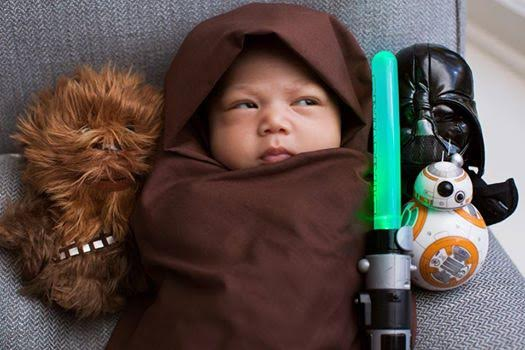 Photo: Mark Zuckerberg's daughter is already a Star Wars fan