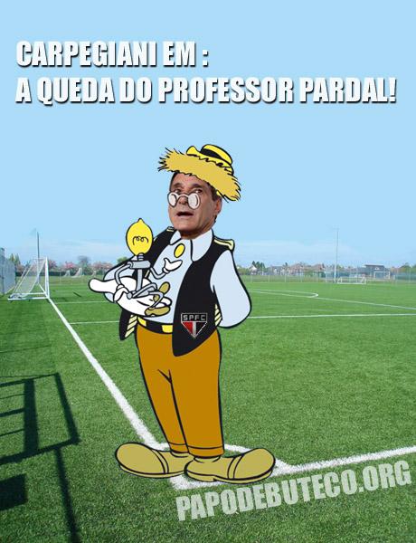 Carpegiani demitido, professor pardal, pardal demitido, demissão do pardal, Carpegiani pardal, são paulo em crise