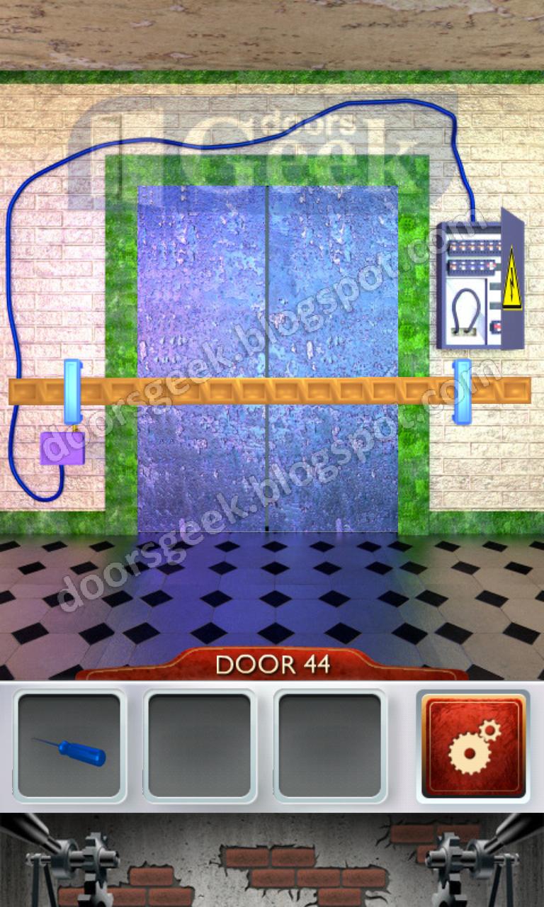 100 doors 2 level 44 doors geek for 100 doors door 9 solution