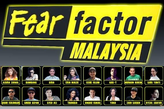 Erin, Nas T, Shuib & Azura mara ke peringkat akhir Fear Factor Malaysia 2