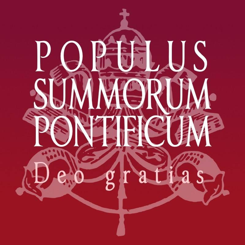 """Pagina Facebook """"Populus Summorum Pontificum"""""""