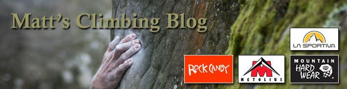 Matt's Climbing Blog