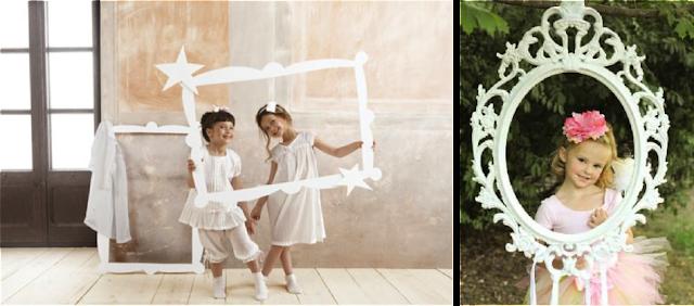 Photocall infantil para fiesta de princesas