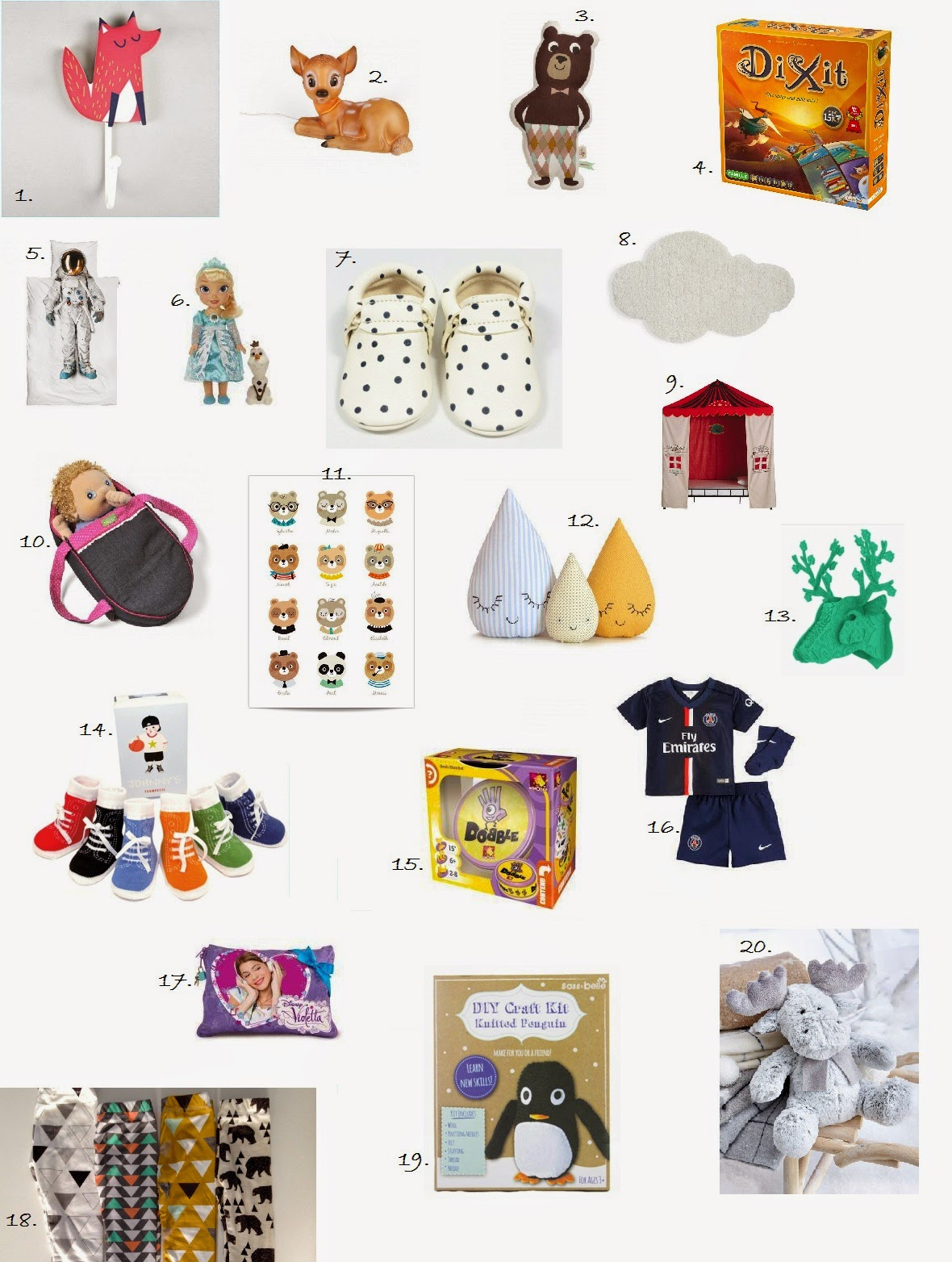 Noël #4 : 20 idées cadeaux pour les enfants