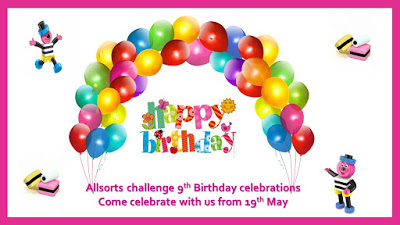 Allsorts Challenge 9th Birthday