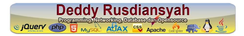 Deddy Rusdiansyah