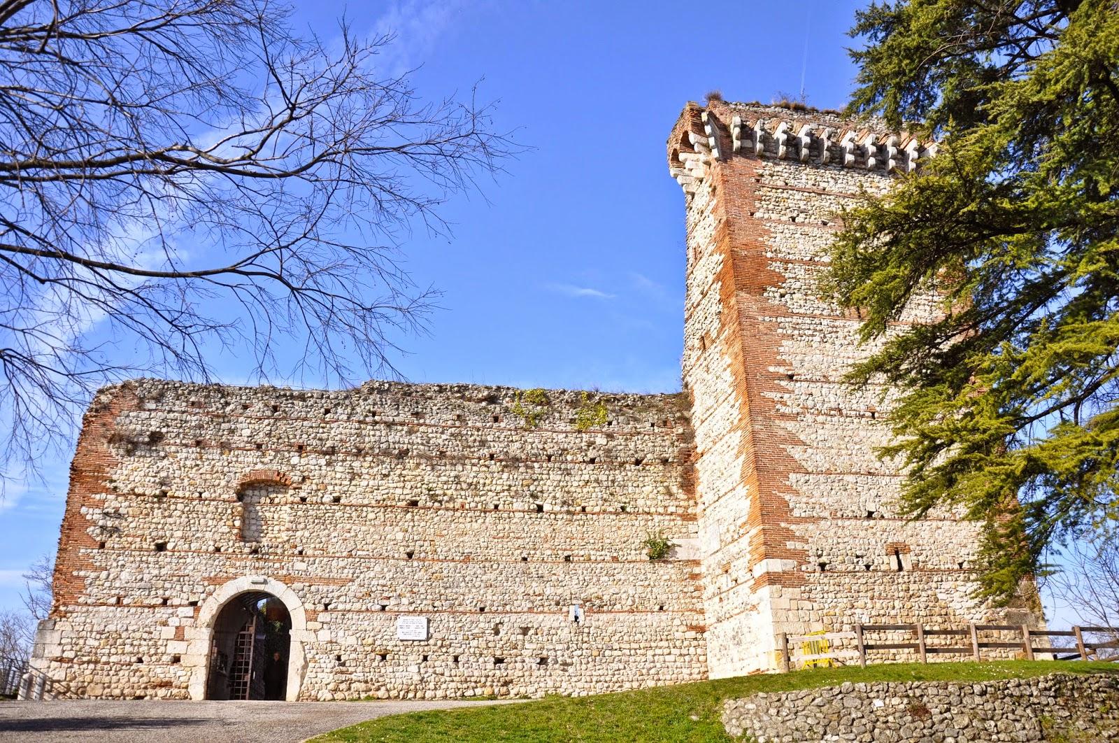 Romeo's Castle, Montecchio Maggiore, Veneto